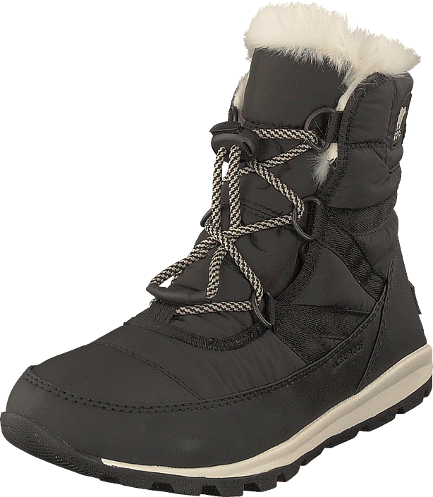 Sorel - Youth Whitney Short Lace 011 Black Sea Salt