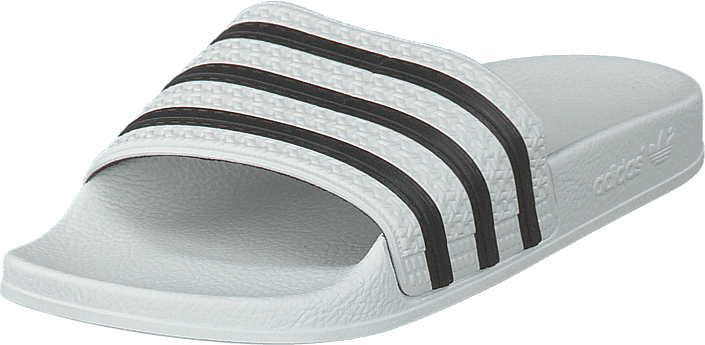 adidas Originals - Adilette White/cblack/white
