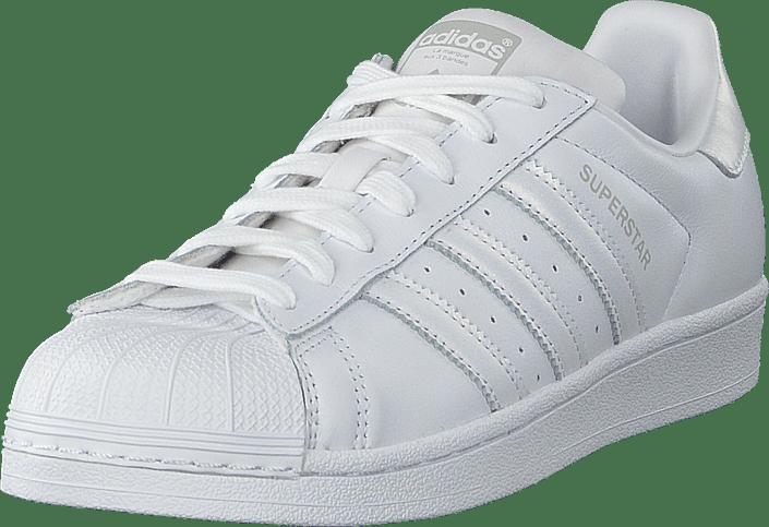 adidas Originals - Superstar W Ftwwht/ftwwht/greone