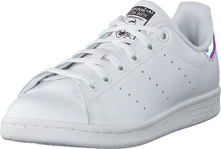 adidas Originals - Stan Smith J Ftwwht/metsil/ftwwht