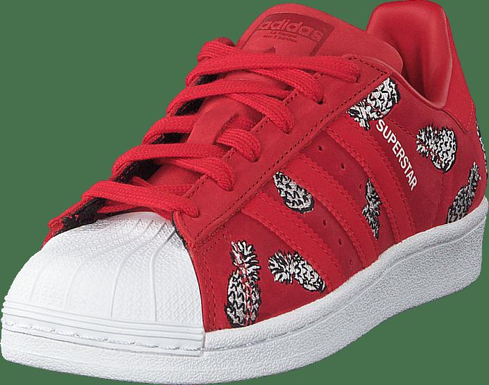 Sko Røde Online Og scarle Scarle W Adidas Originals 91 Superstar ftwwht Sneakers Køb Sportsko 60107 wq08xS