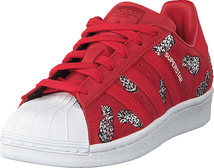 adidas Originals - Superstar W Scarle/scarle/ftwwht