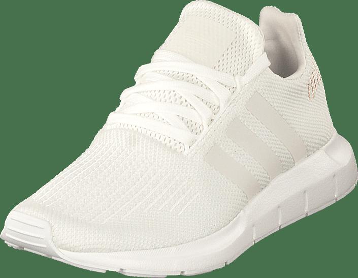 68f653036a3844 adidas Originals Swift Run W Ftwwht crywht ftwwht Weiße Schuhe ...