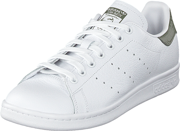 adidas Originals - Stan Smith Ftwwht/ftwwht/basgrn