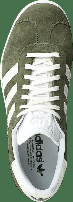 0d3ff35d Køb adidas Originals Gazelle Basgrn/owhite/ftwwht grønne Sko Online ...