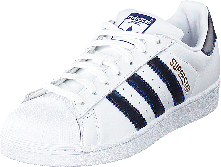 adidas Originals - Superstar Ftwwht/croyal/goldmt
