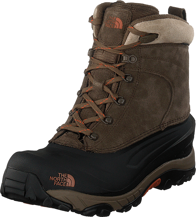 The North Face - Men's Chilkat III Mudpack Brown/ Bombay Orange