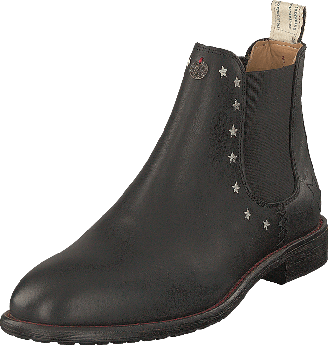 Odd Molly - Mollyhood Low Leather Almost Black
