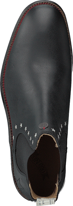 Mollyhood Low Leather Almost Black