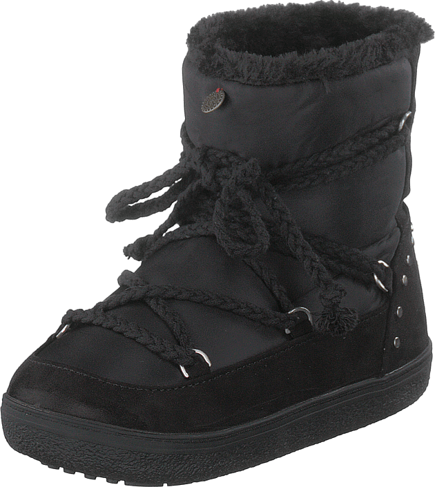 Odd Molly - Soft Artic Low Boot Almost Black