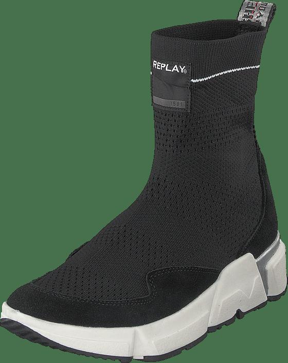 Og Køb Støvler Sorte Replay Black 60109 Boots Fantasy Sko 43 Online xqq04wHOZ