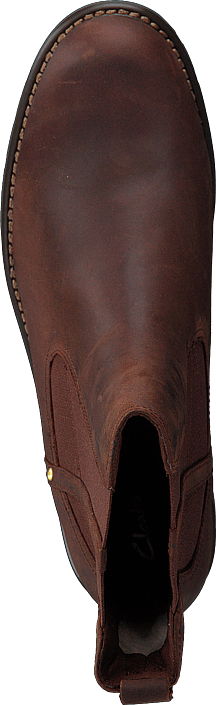 Clarks - Orinoco Hot Tan Wlined Lea
