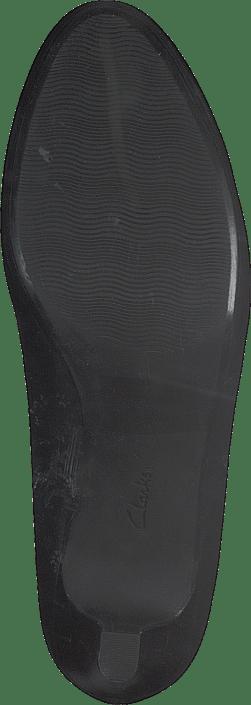 Clarks - Adriel Viola Black Leather