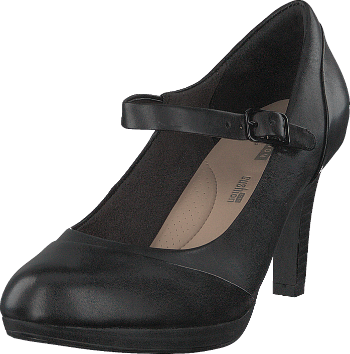 Adriel Carla Black Leather