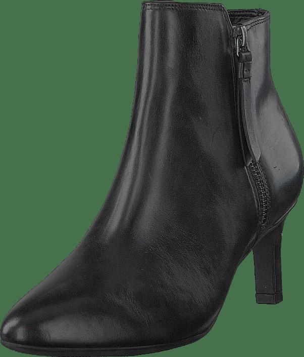 Clarks - Calla Blossom Black Leather