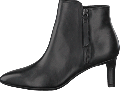 Calla Blossom Black Leather