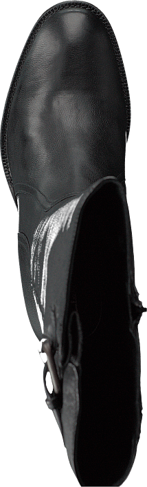 Mascarpone Ela Black Leather