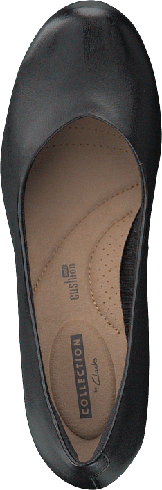 Clarks - Flores Tulip Black Leather
