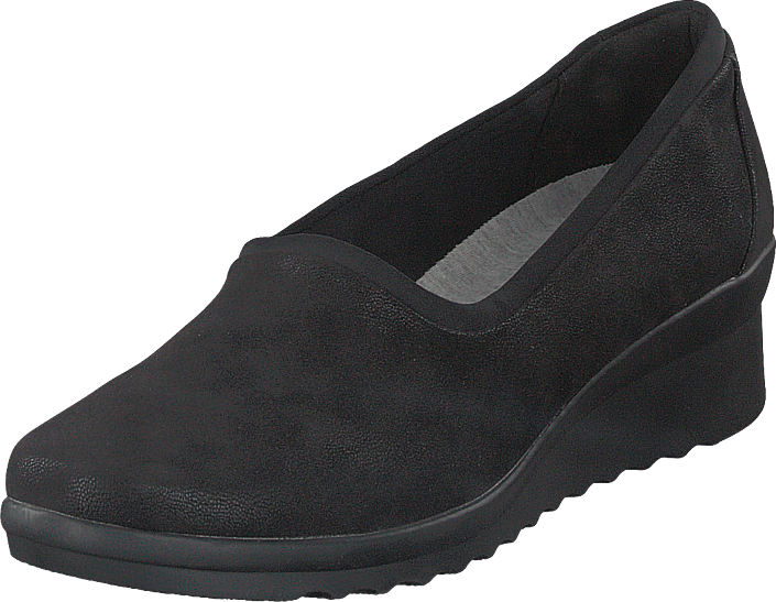 Clarks - Caddell Jaylin Black Synthetic