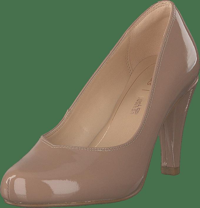 Clarks - Dalia Rose Nude Patent