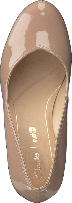 Acheter Clarks Rose Chaussures Online Nude Patent Dalia Marrons rrqd7f1