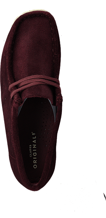 Clarks - Wallabee Burgundy Suede