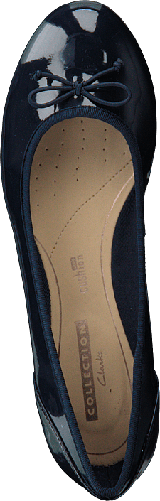 Clarks - Couture Bloom Navy Patent