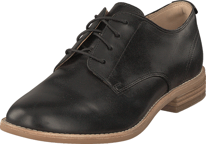 Edenvale Ash Black Leather
