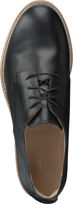 Clarks - Edenvale Ash Black Leather