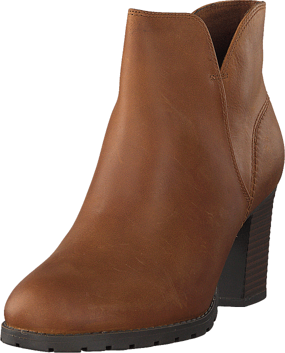 Clarks - Verona Trish Dark Tan Lea