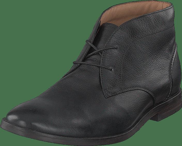 Clarks - Glide Chukka Black Leather