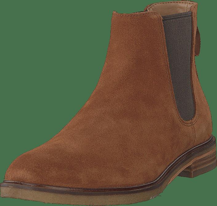 1a654e85e0caeb Buy Clarks Clarkdale Gobi Dark Tan Suede brown Shoes Online ...