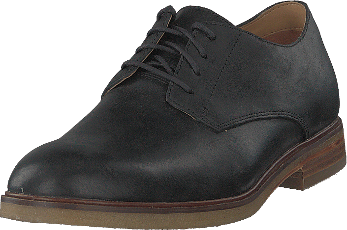 Clarks - Clarkdale Moon Black Leather