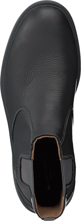 Clarks - Un Map Up Black Leather