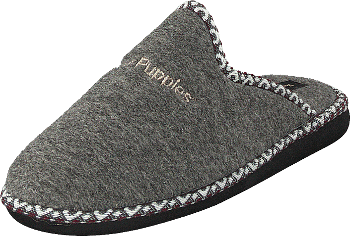 Hush Puppies - Felt Slipper Grey