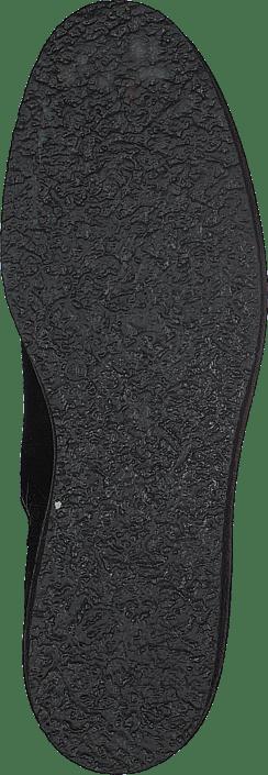 Vedge Chels Blk Leath Black