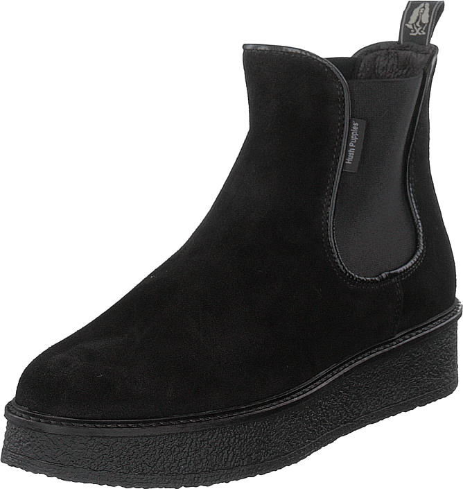 Hush Puppies - Vedge Chelsea Mock Black