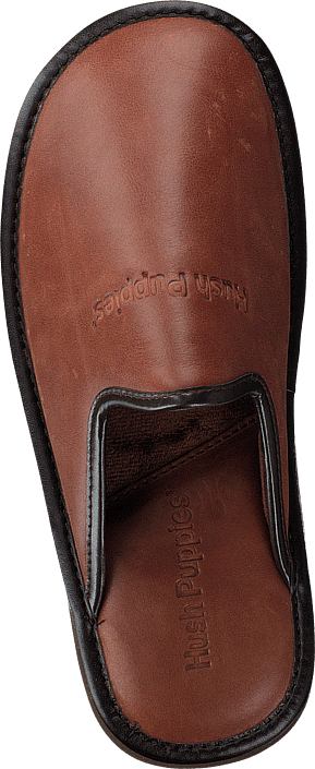 Leather Slipper Cognac