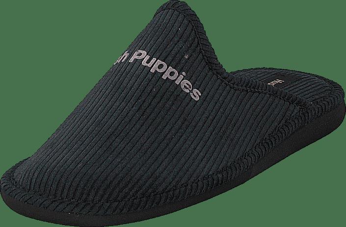 Hush Puppies - Slipper Black
