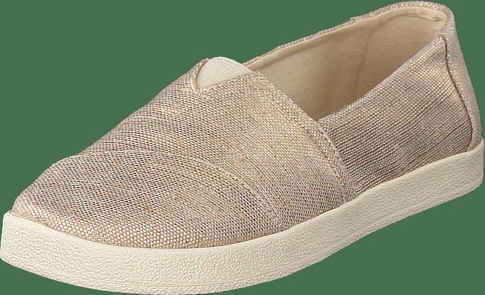 Toms Avalon Rose Gold Metallic Shoes