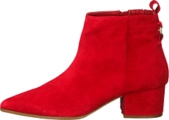 Clover Red Suede