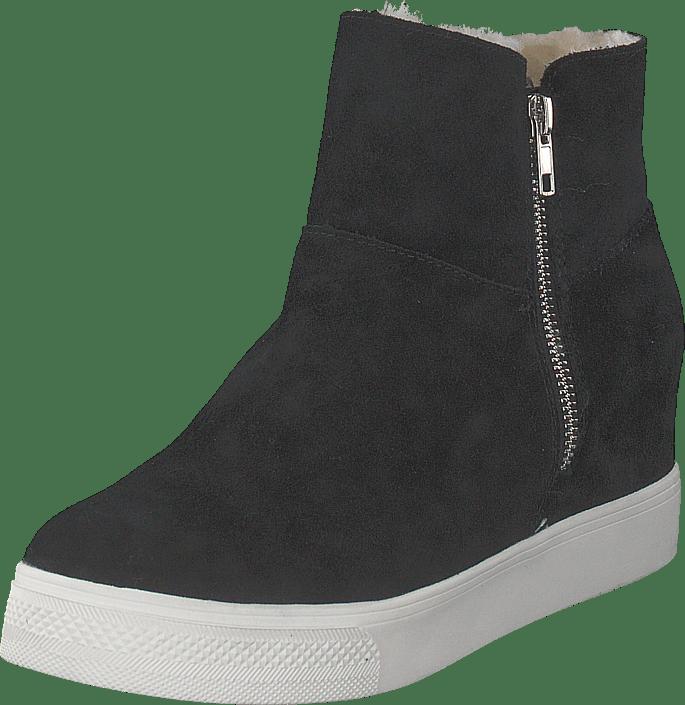 10ba0f08148 Buy Steve Madden Wanda Black Suede black Shoes Online