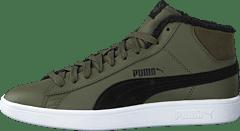 Puma - Puma Smash V2 Mid Wtr L Forest Night-puma Black 26d6771d83095