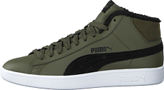Puma Smash V2 Mid Wtr L Forest Night-puma Black