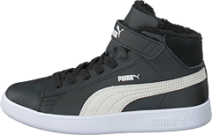 Puma Smash V2 Mid L Fur V Ps Puma Black-puma White