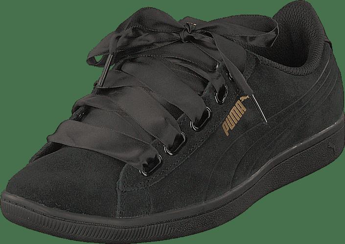 Kjøp Grå S puma Black Puma Sneakers Ribbon Online Black Vikky Sko nAqxA7r