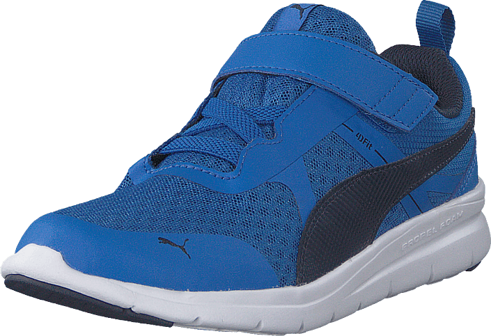 Buy Puma Puma Flex Essential V Ps Strong Blue-peacoat blue Shoes ... 8d193ed8b