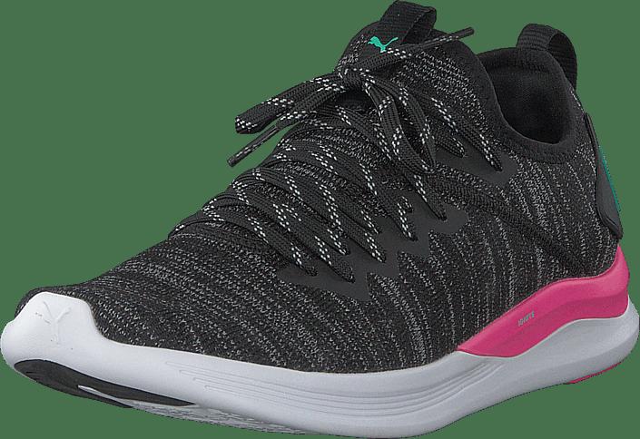 Ignite Flash Evoknit Wns Black/ Pink-biscay Green