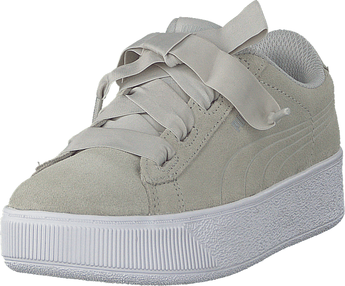 Buy Puma Vikky Platform Ribbon Ac Ps Gray Violet-puma Silver grey ... 57fe8d2f2