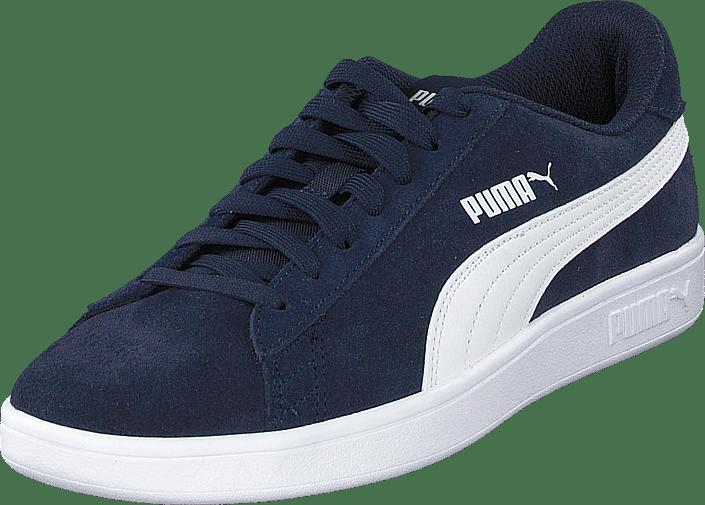 Smash 67 puma White Blå 60113 Sko Puma Peacoat Køb Sneakers V2 Og Online Sportsko gI6Oqn5